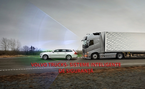 Volvo Trucks-Sisteme inteligente de siguranță care reduc riscul accidentelor