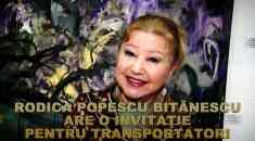 Rodica Popescu Bitănescu-invitaţie pentru transportatori